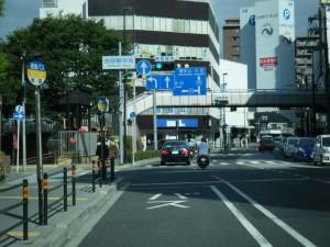 池田駅 R176バス停前